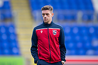 29th December 2019; McDairmid Park, Perth, Perth and Kinross, Scotland; Scottish Premiership Football, St Johnstone versus Ross County; Josh Mullin of Ross County inspects the pitch before the match - Editorial Use