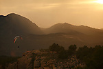 Parapente en Sierra Espu-a. Murcia.