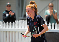 The 2017 New Zealand Secondary Schools 1st XI NZCT girls cricket national finals at Fitzherbert Park in Palmerston North, New Zealand on Sunday, 3 December 2017. Photo: Dave Lintott / lintottphoto.co.nz