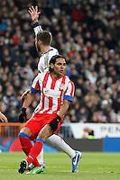 Radamel Falcao during La Liga Match. December 01, 2012. (ALTERPHOTOS/Caro Marin)