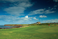 Winterfield Golf Course, Bass Rock and the John Muir Way, Dunbar, East Lothian