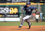 Images from a spring training game between the San Diego Padres and the San Francisco Giants in Scottsdale, Ariz., on Saturday, March 25, 2017.<br /> Photo by Cathleen Allison/Nevada Photo Source