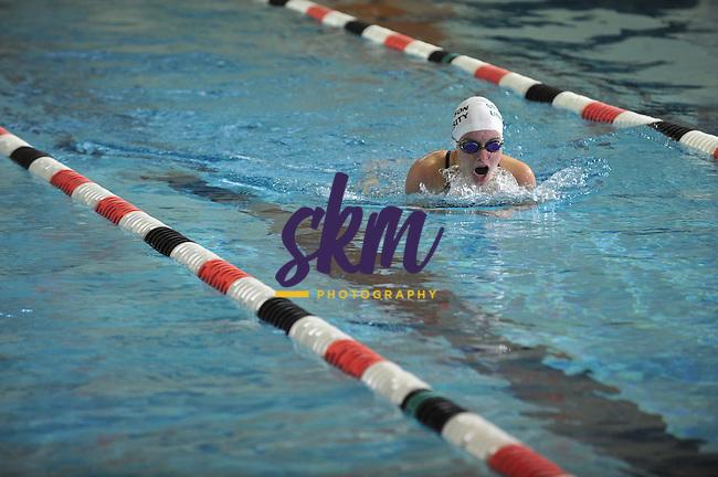 Stevenson University held their first ever home swim meet competing against Lebanon Valley.