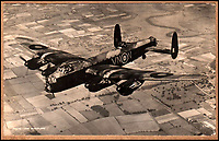 BNPS.co.uk (01202 558833)<br /> Pic: Rascoins/BNPS<br /> <br /> An AVRO Lancaster used on the famous Dambusters raid in May 1943.<br /> <br /> A rare, signed menu for a slap-up dinner for the heroic Dam Busters crew after the famous wartime raid is tipped to sell for £7,500.<br /> <br /> The celebratory meal was held to mark the decorations awarded that day at Buckingham Palace to the survivors of Operation Chastise.<br /> <br /> The do was at the Hungaria Restaurant on London's Regent Street and was attended by crew members including Victoria Cross winner Guy Gibson. <br /> <br /> The men feasted on crab cocktail to start, stuffed duck with minted peas and new potatoes for mains and strawberries in maraschino liquor for dessert.