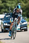 SITTARD, NETHERLANDS - AUGUST 16: David Lopez Garcia of Spain riding for Sky Procycling competes during stage 5 of the Eneco Tour 2013, a 13km individual time trial from Sittard to Geleen, on August 16, 2013 in Sittard, Netherlands. (Photo by Dirk Markgraf/www.265-images.com)