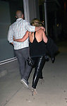 .June 14th 2012    Thursday night ..Haylie Duff holding hands with a mystery man dine at Koi Restaurant in West Hollywood , CA...AbilityFilms@yahoo.com.805-427-3519.www.AbilityFilms.com.