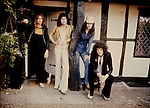 Queen 1975 Roger Taylor, Freddie Mercury, John Deacon and Brian May