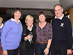 The new lady captain Vivienne Meade with Marie Kerley, Margaret Malone and Ben Meade at Ardee Golf Club. Photo:Colin Bell/pressphotos.ie