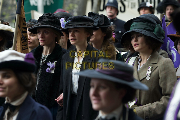Suffragette (2015)<br /> Anne-Marie Duff, Carey Mulligan, Helena Bonham Carter<br /> *Filmstill - Editorial Use Only*<br /> CAP/KFS<br /> Image supplied by Capital Pictures