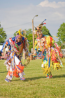 Traditional Grass Dancer, Nanticoke Lenni-Lenapi Indian Pow Wow