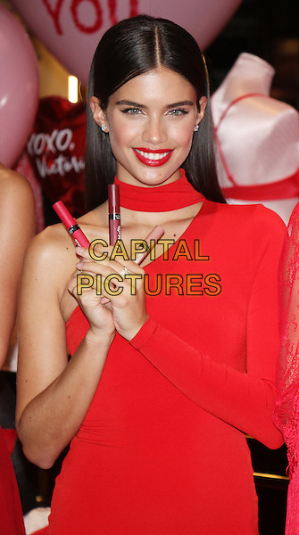 NEW YORK, NY February  07, 2017:Victoria's Secret Sara Sampaio, Share her Hottest Valentine's Day Gift Picks at Victoria's Secret 5th Avenue store in New York. February 07, 2017. <br /> CAP/MPI/RW<br /> &copy;RW/MPI/Capital Pictures