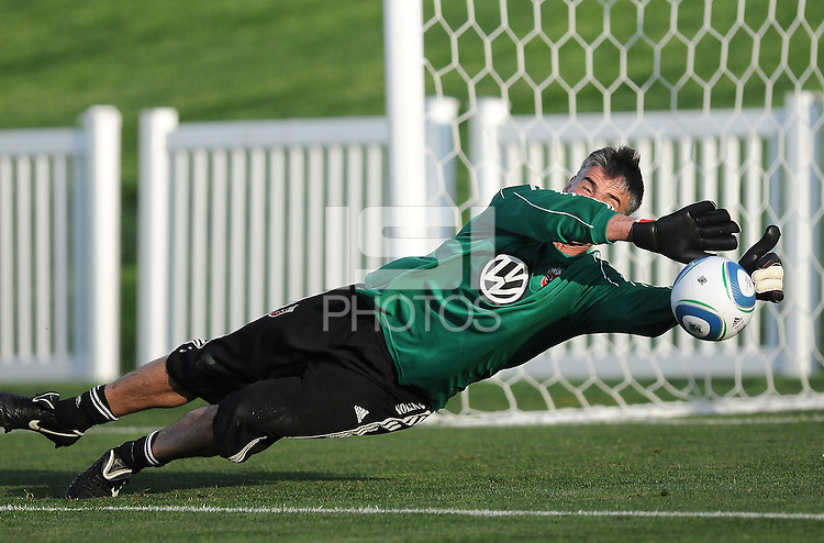 D.C. United goalkeeper Pat Onstad (20) File photo RFK stadium 2011 season.