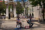 Musicians, Largo do Carmo, Lisbon