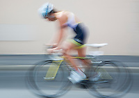 01 SEP 2013 - SARTROUVILLE, FRA - Marta Jimenez, racing for Autun Triathlon, on the bike during the women's Grand Prix de Triathlon de Sartrouville in Sartrouville, France (PHOTO COPYRIGHT © 2013 NIGEL FARROW, ALL RIGHTS RESERVED)