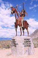 Indian Sculpture at Nk'Mip Desert Cultural Centre, Osoyoos, South Okanagan Valley, BC, British Columbia, Canada