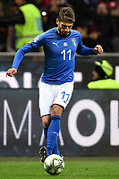 Domenico Berardi of Italy in action during the Nations League League A group 3 football match between Italy and Portugal at stadio Giuseppe Meazza, Milano, November, 17, 2018 <br /> Foto Andrea Staccioli / Insidefoto
