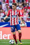 Kevin Gameiro of Atletico de Madrid in action during the La Liga 2017-18 match between Atletico de Madrid and Sevilla FC at the Wanda Metropolitano on 23 September 2017 in Madrid, Spain. Photo by Diego Gonzalez / Power Sport Images