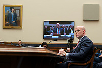 Acting United States Attorney General Matthew G. Whitaker appears before the US House Judiciary Committee on Capitol Hill in Washington, DC, February 8, 2019. Photo Credit: Chris Kleponis/CNP/AdMedia