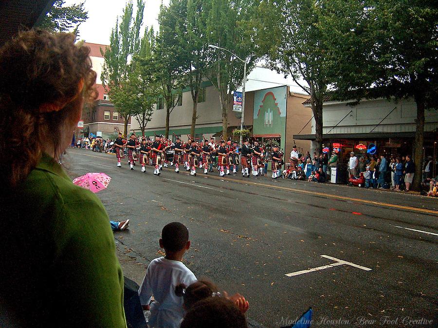 The Capital Lakefair Twilight Parade in Olympia, Washington, USA.