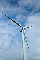 Wind turbine at Airtricity, Richfield Wind Farm at Kilmore, County Wexford, Southern Ireland