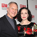 Walter Bobbie & Bebe Neuwirth attending the Opening Night Party for the Manhattan Theatre Club's 'Golden Age' at Beacon Restaurant in New York City on December 4, 2012.