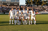 DC United Starting Line Up without captain. The San Jose Earthquakes tied DC United 2-2 at Buck Shaw Stadium in Santa Clara, California on July 25, 2009.