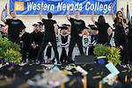 Members of the Western Nevada Musical Theater Company perform during the 2018 Western Nevada College Commencement ceremony, in Carson City, Nev., on Monday, May 21, 2018. <br /> Photo by Cathleen Allison/Nevada Momentum