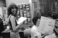 International Women's Day Radio, 24 hours of programming produced by women at WMBR radio studios at MIT in Cambridge, MA March 7, 1982