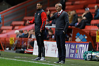 Lee Bowyer manager of Charlton Athletic in action during the Sky Bet Championship match between Charlton Athletic and Swansea City at The Valley, London, England, UK. Wednesday 02 October 2019