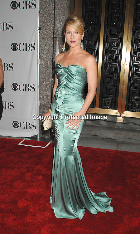 Christina Applegate..arriving at The 2007 Tony Awards on June 10, 2007 at ..Radio City Music Hall. ..Robin Platzer, Twin Images......212-935-0770