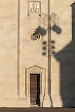 Schattenspiele an der Zagreber Kathedrale. / Shadow on the Zagreb Cathedral.