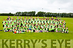 The large crowd of soccer players that attended the FAI Summer Camp in Mastergeeha on Friday