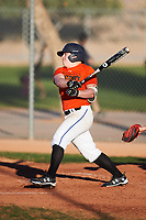 Nick Zezulka (46), from St. Anthony, Minnesota, while playing for the Orioles during the Under Armour Baseball Factory Recruiting Classic at Red Mountain Baseball Complex on December 29, 2017 in Mesa, Arizona. (Zachary Lucy/Four Seam Images)