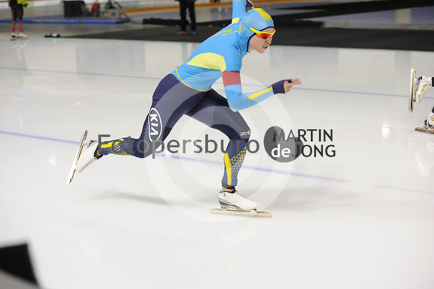 SPEEDSKATING: CALGARY: Olympic Oval, 25-02-2017, ISU World Sprint Championships, 500m Ladies, Yekaterina Aydova (KAZ), ©photo Martin de Jong