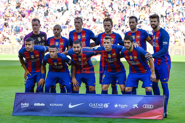 League Santander 2016/2017. Game: 8.<br /> FC Barcelona vs Deportivo: 4-0.