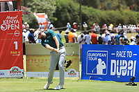 Liam Johnston (SCO) in action during the final round of the Magical Kenya Open presented by ABSA played at Karen Country Club, Nairobi, Kenya. 17/03/2019<br /> Picture: Golffile | Phil Inglis<br /> <br /> <br /> All photo usage must carry mandatory copyright credit (&copy; Golffile | Phil Inglis)