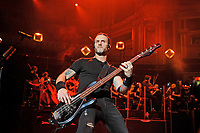 LONDON, ENGLAND - OCTOBER 3: Brian Marshall of 'Alter Bridge' performing at the Royal Albert Hall on October 3, 2017 in London, England.<br /> CAP/MAR<br /> &copy;MAR/Capital Pictures