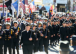 Images from the annual Veterans Day parade in Virginia City, Nev., on Wednesday, Nov. 11, 2015. <br /> Photo by Cathleen Allison