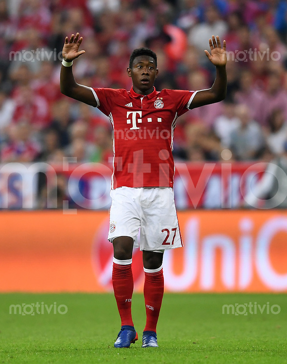 FUSSBALL CHAMPIONS LEAGUE SAISON 2016/2017 GRUPPENPHASE FC Bayern Muenchen  - FK Rostow              13.09.2016 David Alaba (FC Bayern Muenchen)