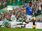 29.12.2019 Celtic v Rangers: Alfredo Morelos and Krtistoffer Ajer