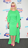 Grace Chatto of Clean Bandit at the Capital FM Summertime Ball 2018, Wembley Stadium, Wembley Park, London, England, UK, on Saturday 09 June 2018.<br /> CAP/CAN<br /> &copy;CAN/Capital Pictures