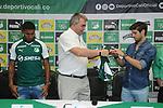 Deportivo Cali presentó a Matías Cabrera y a Juan Camilo Angulo como sus nuevos refuerzos para la Liga Águila II-2018.