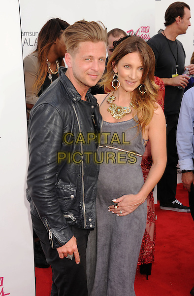 LAS VEGAS, CA- MAY 18: Ryan Tedder; Genevieve Tedder of OneRepublic arrives at the 2014 Billboard Music Awards at the MGM Grand Garden Arena on May 18, 2014 in Las Vegas, Nevada.<br /> CAP/ROT/TM<br /> &copy;TM/Roth Stock/Capital Pictures
