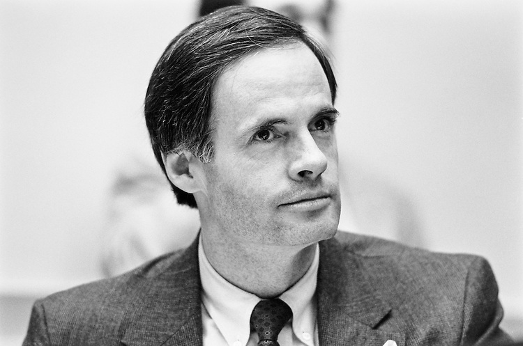 Rep. Thomas Carper, D-Del. in July 29, 1991. (Photo by Laura Patterson/CQ Roll Call)