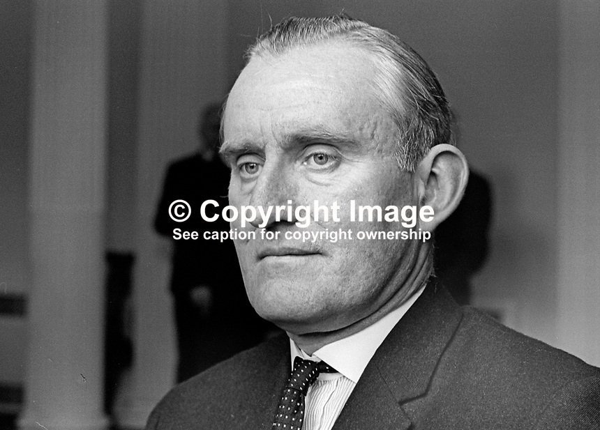 Major James Chichester-Clark, Minister of Agriculture, Stormont Parliament, N Ireland, UK, June 1967. 196706000117b<br /> <br /> Copyright Image from Victor Patterson, 54 Dorchester Park, Belfast, UK, BT9 6RJ<br /> <br /> t1: +44 28 9066 1296<br /> t2: +44 28 9002 2446<br /> m: +44 7802 353836<br /> <br /> e1: victorpatterson@me.com<br /> e2: victorpatterson@gmail.com<br /> <br /> IMPORTANT: My Terms and Conditions of Business are at www.victorpatterson.com