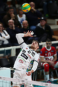 20th March 2018, PalaTrento, Trento, Italy; CEV Volleyball Champions League, playoffs, 1st leg; Trentino Diatec versus Chaumont VB 52 Haute Marne; 12 Teppan Renee	EST