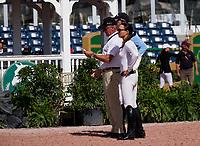 WELLINGTON, FL &ntilde; FEBRUARY 11: Georgina Bloomberg during the Winter Equestrian Festival&iacute;s $50,000 Equiline Grand Prix at The Palm Beach International Equestrian Center in Wellington, Florida, USA. February 11, 2018. <br /> CAP/MPI140<br /> &copy;MPI140/Capital Pictures