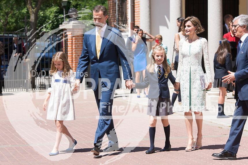 Princess Leonor of Spain First Communion