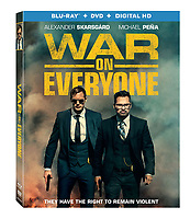 War on Everyone (2016) <br /> BLU RAY &amp; DVD COVER ART<br /> *Filmstill - Editorial Use Only*<br /> CAP/FB<br /> Image supplied by Capital Pictures