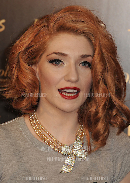 Nicola Roberts launches her Dainty Doll make up range at Harrods.Knightsbridge.  24/08/2010  Picture by: Simon Burchell / Featureflash.